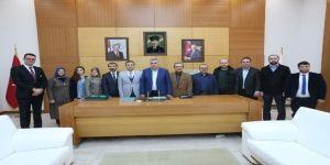 Yeşilay Derneği Başkan Toçoğlu'nu ziyaret etti