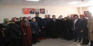 AK Parti Çıldır'da Kadın Kolları ve Gençlik Kolları ile bir araya geldi