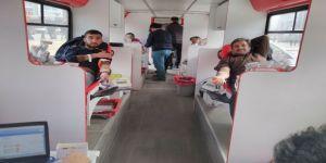 Eğitim Bir Sen'de Mehmetçiğe kan bağışı desteği