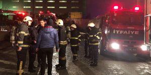 Çayırova'da korkutan yangın