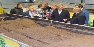 Şeker Ar-Ge merkezine  solucan gübresi için pilot tesis kuruldu