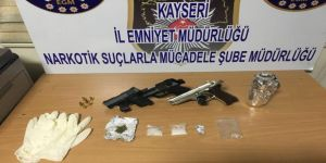 Uyuşturucu taciri 3 kişi gözaltına alındı