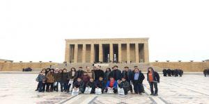 40 öğrenci Anıtkabir'e gönderildi!