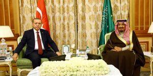Erdoğan, Kral Selman ile görüştü