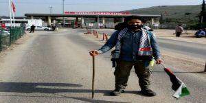 Filistin'deki zulme dikkat çekmek için 54 gün yürüdü
