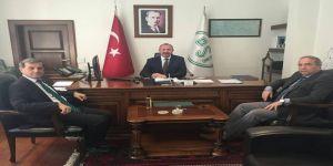 Özkan'dan DSİ 3'üncü Bölge Müdürü'ne ziyaret