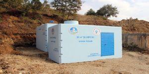 SASKİ 3 yılda 82 içmesuyu deposu inşa etti