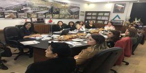 Kadın sanayicilerden Zahit Alüminyum'a ziyaret