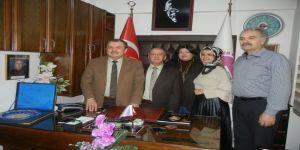 TBKGU Fedarasyonu Genel Başkanı Bayram Karakaş Edremit'te