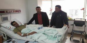 Besnili Uzman Çavuş Afrin'de yaralandı