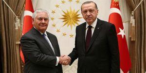 Erdoğan-Tillerson görüşmesi 3 saat 15 dakika sürdü