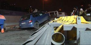 E-5 üzerinde trafik kazası: 2 yaralı