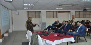 SGK'da, kadına yönelik şiddetle mücadele semineri