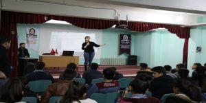 Kızıltepe'de sınava hazırlanan öğrencilere psikolojik destek