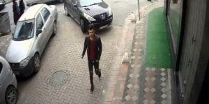 Üniversiteli genç kıza apartmanda saldıran şahıs yakalandı