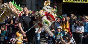 ABD'de 'Köpek Yılı' kutlamaları