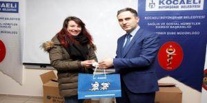 65 gönüllü, hayvan koruma kartı sahibi oldu