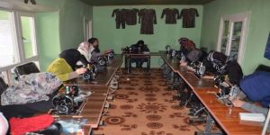 TİKA'dan Afganistan'da kadınlara yönelik mesleki eğitim kursları