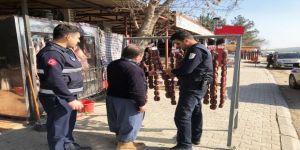 Piknik alanlarında et ve sucuk satışı yapan esnafa denetim