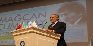 Mağcan Cumabay Gazi Üniversitesi'nde anıldı