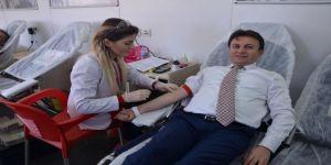 AK Parti'den kan bağışı
