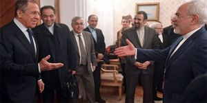 Lavrov, İranlı mevkidaşı ile bir araya geldi