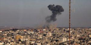 İsrail savaş uçakları, tarım arazilerini bombaladı