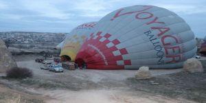 Balon uçuşları iptal edildi