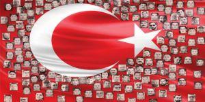15 Temmuz şehitlerinin ailelerine 'Şehitler albümü'