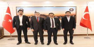 Lice'den Başkan Atilla'ya ziyaret
