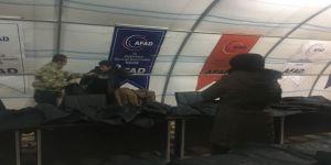 Ak Parti'den sığınmacılara destek