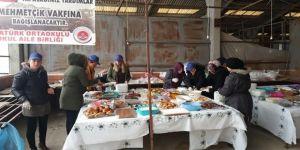 Akçakoca'da okul aile birliğinden Afrin için kermes