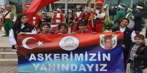 Uşak Mehter Takımı Reyhanlı'da konser verdi
