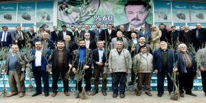 """Erkoç: """"Zeytin fidanlarını şehitlerimizin adına dikin"""""""