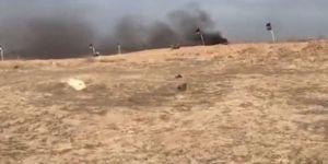 Gazze'de 15 dakika hayat durdu