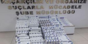 3.340 paket kaçak sigara ele geçirildi