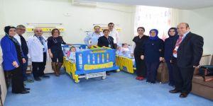 Hayırseverlerden devlet hastanesine destek