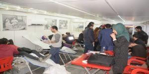 Cizrelilerden kan bağışına yoğun ilgi