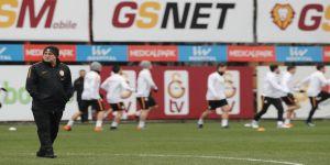 Galatasaray Bursaspor maçı hazırlıklarını sürdürdü