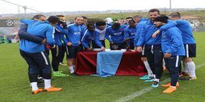 Trabzonspor Alanyaspor maçı hazırlıklarını sürdürdü