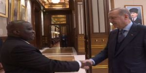 Erdoğan, Burundi Meclis Başkanını kabul etti