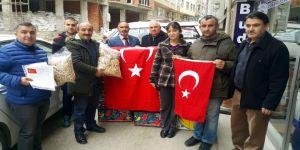 Afrin'de savaşan Mehmetçiğe fındık
