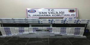 Jandarma, 11 bin 821 paket kaçak sigara ele geçirildi