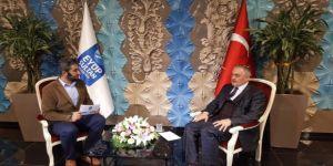 """Başkan Aydın: """"Şehidimizin hassasiyetine sahip gençler yetiştireceğiz"""""""