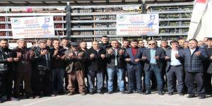 Afrin operasyonundaki Mehmetciğe bir tır elma