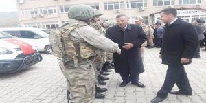26 güvenlik korucusu Afrin'e uğurlandı