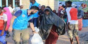 Türkiye Diyanet Vakfı'ndan Suriyeli ailelere insani yardım