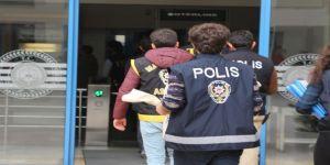 Hırsızlık zanlısı polisten kaçamadı