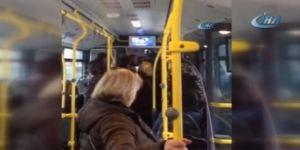 Belediye otobüsü şoförü, kapıları kilitleyip yolcuları esir aldı