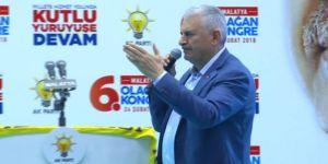 Başbakan Yıldırım'dan CHP'ye sert cevap
